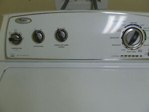 Whirlpo Extra capacity Washer Stainless drum-Used about 2 years