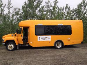 Low Mileage Shuttle Bus in Great Shape