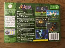 The Legend of Zelda Majora's Mask Nintendo 64 Cartridge, Box & Instructions