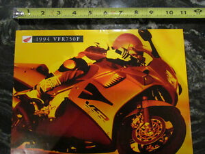HONDA 1994 VFR750F MOTORCYCLE BROCHURE CATALOG