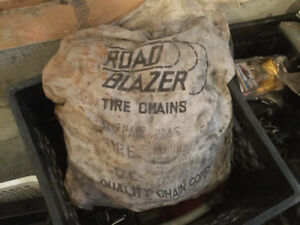 HD ROAD BLAZER Tire Chains for RV or Big Truck