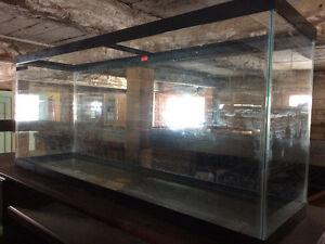 Aquarium 55 gallons avec couvercle