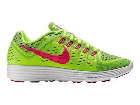 Nike Lunar Tempo Green Womens Ladies Girls Shoes Trainers Running UK 4.5 EU 38