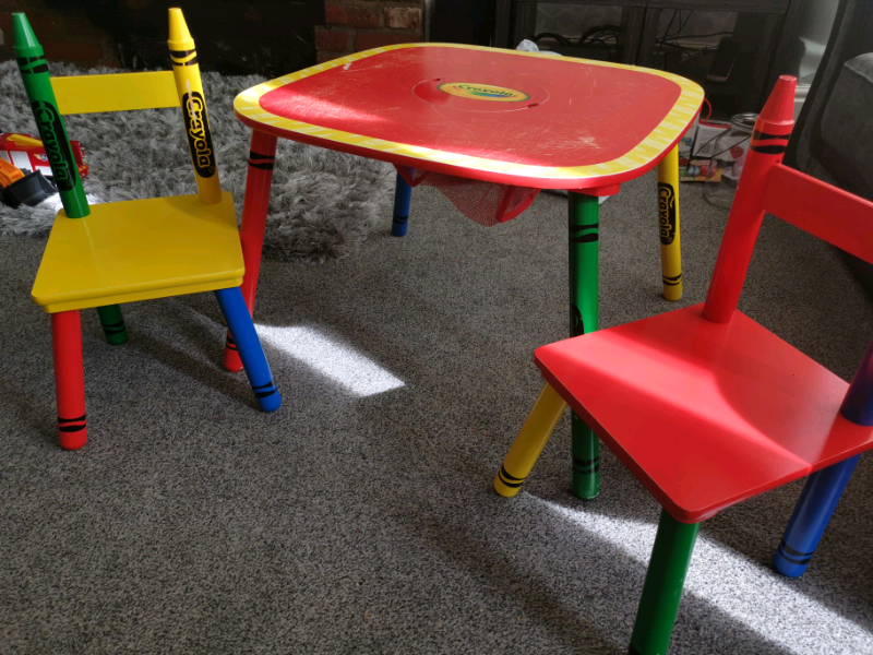 Pleasant Crayola Toddler Kids Craft Drawingtable Chair Set In Chorlton Manchester Gumtree Ocoug Best Dining Table And Chair Ideas Images Ocougorg
