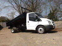 Ford Transit Single cab Tipper 2.4TDCi ( DRW ) 2008/57 350 LOVELY CLEAN EXAMPLE