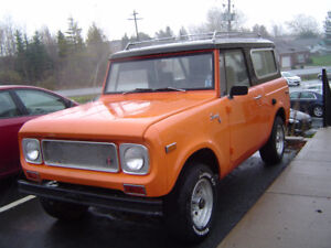 --PARTS WANTED. FOR 71 SCOUT