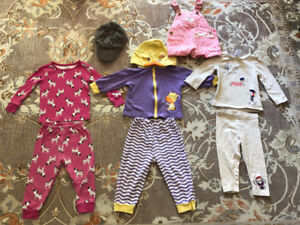Baby clothes (9, 12-18 months)