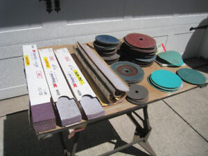 Body Shop Grinding and Sanding Discs and Sand Paper