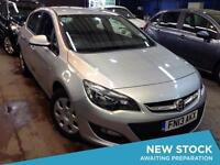 2013 VAUXHALL ASTRA 1.4i 16V ES 1 Owner Low Miles Aircon Low Insurance
