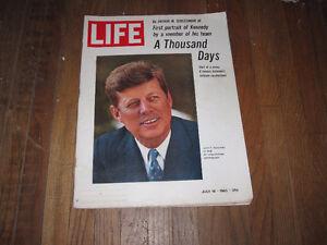 """Life Magazine July 16,1965 """"A Thousand Days""""-John F. Kennedy"""