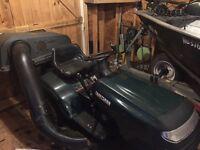 "42"" craftsman ride on mower"