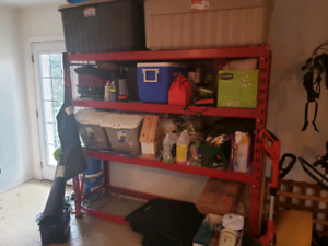 Heavy duty storage rack in excellent condition