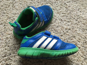 Boys size 11 adidas indoor shoes-never worn outside