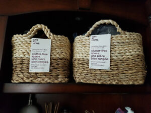 3 Nested baskets Brand new