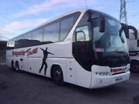 2011 11 MAN NEOPLAN TRI AXLE 61 SEATER EXECUTIVE TOURLINER