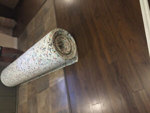 new carpet under padding for sale $30