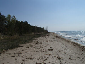 Lake Huron waterfront vacant lot for sale