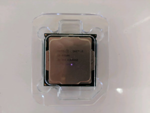 Intel i3-8350K four-core processor