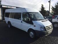 Ford TRANSIT twin axel 17-SEAT RWD minibus 2007 57 Reg