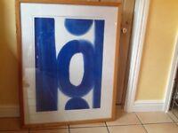 💙 Xlarge 84x107 original Denise Duplock print signed by artist