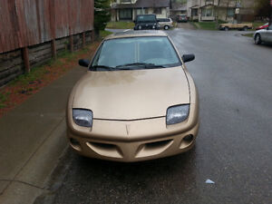98 Pontiac Sunfire Price Reduced to 1000$  must go before june!