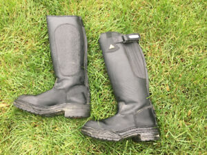 Mountain Horse Kids Riding Field Boots