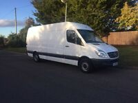 2011-61-reg Mercedes sprinter 316CDI euro5 LWB HI ROOF Free UK same day delivery