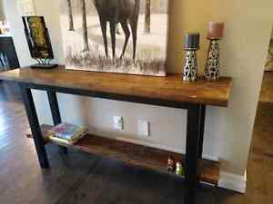 Console table sofa table solid wood good quality