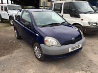 1999 Toyota Yaris S blue 998cc 12 months mot Px welcome