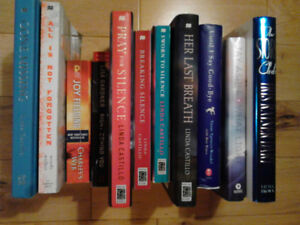 Lot of Fiction Novels, 1 Signed by Author