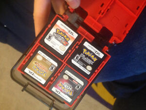 DS games and case pokemon runfactory