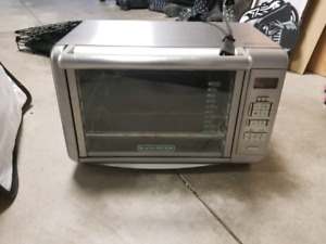Toaster oven $20
