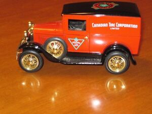 Canadian Tire Truck Coin Bank Collection