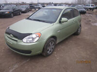 JUST IN FOR PARTS! 2008 HYUNDAI ACCENT @ PICNSAVE WOODSTOCK!