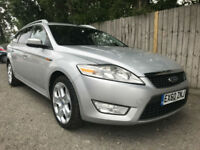 2010 60 Ford Mondeo 2.0TDCi 140 Zetec ESTATE 6 SPEED 57.7 MPG HIGH MILES