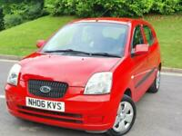 2006 Kia Picanto 1.1 Zapp 5dr [AC] *** FULL MOT- LOW MILES - DELIVERY AVAIL ***