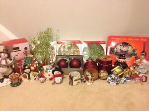 Christmas ornaments- snowman - lot