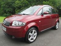 04/04 AUDI A2 1.4 SE 5DR HATCH IN MET RED