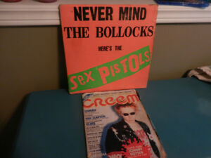 Vinyl Record The Sex Pistols Never Mind The Bollocks Plus Extra