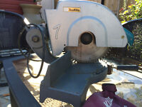 Makita 2403B Chop Saw. Old model built to last.
