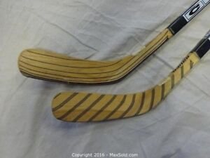 Brand new hockey sticks