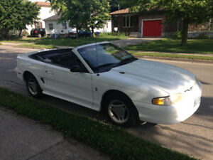 1996 Ford Mustang Convertible