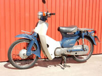 HONDA C50 2004 49cc MOT'd JUNE 2019