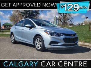 2017 Cruze LT $129B/W TEXT US FOR EASY FINANCING! 587-317-4200