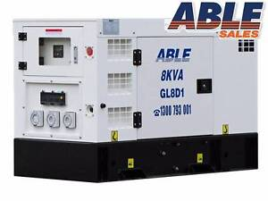 DIESEL GENERATOR 8kVA 240V 1 PHASE Coolaroo Hume Area Preview