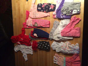 Girl clothes 0-18months