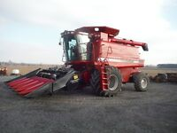 Case 2188 Axial-Flow Combine,Late Model/Low Hrs,4x4 & 2 Heads!!