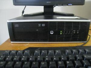 hp 6300 pro desktop (i5-3470/8gb ram/250gb hdd/win 10 pro)