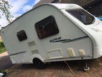 Sprite Alpine 2 - Lightweight 2 berth caravan