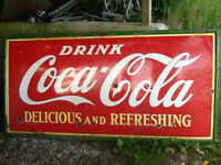 Coke sign for sale